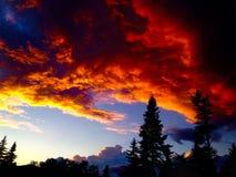 Balada do crepúsculo foto de stock