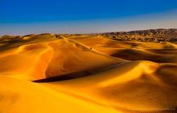 Balade de désert Images libres de droits