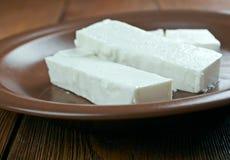 Baladi cheese Stock Image