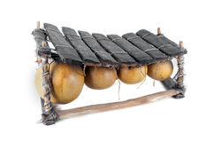 Balafon afrikanskt musikinstrument Arkivfoto