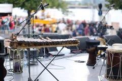 Balafon, perkusja instrument muzyczny zdjęcie stock
