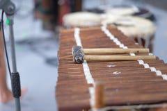 Balafon, perkusja instrument muzyczny zdjęcia royalty free