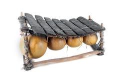 Balafon, strumento musicale africano Fotografia Stock
