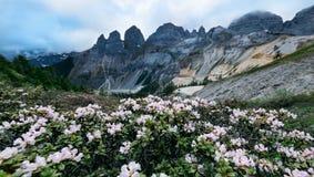 Balagezong mountain Royalty Free Stock Image