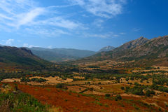 Balagne in corsica isalnd Royalty Free Stock Photo