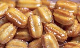 Balah Al假货阿拉伯甜点 库存图片