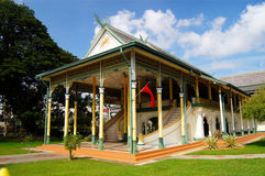 Balai Besar. Located near the town square of Alor Setar in Kedah, Malaysia. The Balai Besar was built in 1898 and is still used for royal ceremonies and some Royalty Free Stock Images