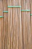 Balai de lame de noix de coco de fond. photos stock