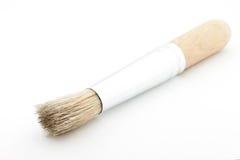 Balai en bois de la poussière Photographie stock libre de droits