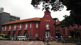 Balai Seni Lukis Melaka, Melaka imagem de stock royalty free