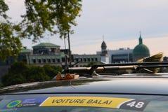 Balai Voiture στα Grand Prix Cycliste του Μόντρεαλ στις 9 Σεπτεμβρίου 2017 στοκ φωτογραφίες με δικαίωμα ελεύθερης χρήσης