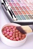 Balais cosmétiques Photos stock