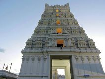 Balaji tempel arkivfoto