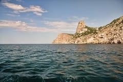 balaklava黑色最近的海运 免版税库存图片