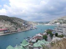 黑海 Balaklava 图库摄影