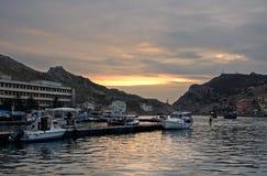 Balaklava bay (Crimea) Stock Photos