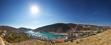Balaklava. Crimea. royaltyfri foto