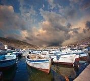 Balaklava. Crimea. royaltyfria foton