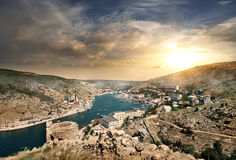 Balaklava in Crimea Royalty Free Stock Image