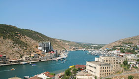 Balaklava Harbor. Crimea Royalty Free Stock Image