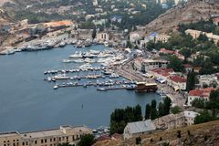 Balaklava Harbour, Crimea Stock Photo