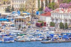 Balaklava sea bay Royalty Free Stock Photo