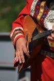 Balalaica do instrumento popular do russo Foto de Stock Royalty Free