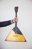 Balalaica popular do instrumento musical Foto de Stock