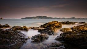 Balança o mar Imagem de Stock
