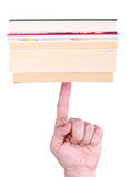 Balançando os livros Fotografia de Stock