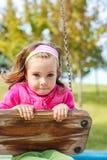 Balanço da menina Foto de Stock