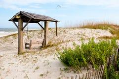 Balanço da praia imagens de stock royalty free