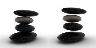 Balanço das pedras. Foto de Stock