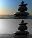 Balanço das pedras Imagem de Stock