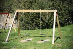 Balanço de madeira Imagem de Stock Royalty Free