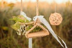 Balanço decorado Fotos de Stock