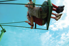 Balanço do céu Fotos de Stock