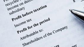Balanço do balanço financeiro, análise do plano de negócios para acionistas filme