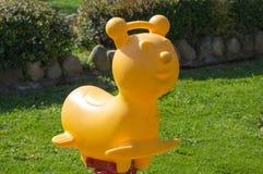 Balanço do urso de peluche Imagens de Stock
