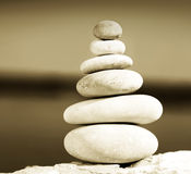 Balanço do zen Imagens de Stock