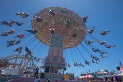 Balanço no San Diego Fair Imagem de Stock Royalty Free
