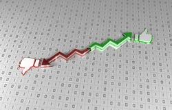 Balanço - tecnologia da informação Imagem de Stock Royalty Free