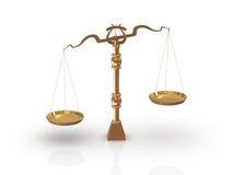 Balance/échelle Photo libre de droits