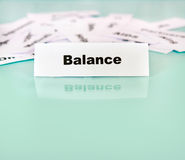 Balance Royalty Free Stock Image