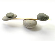 Balance. Stone balance Royalty Free Stock Photos