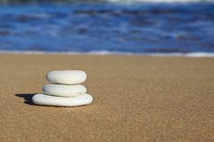 Balance, Beach, Blue, Coastline Royalty Free Stock Image