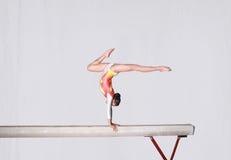 Balance beam stock photography