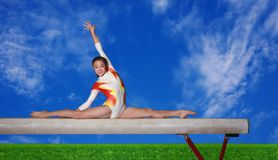 Balance beam Stock Photos