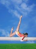 Balance beam Stock Images