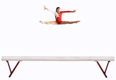 Balance beam Royalty Free Stock Photos